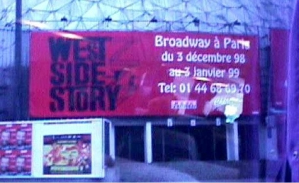 West Side Story - Palais du Sport in Paris, 1999